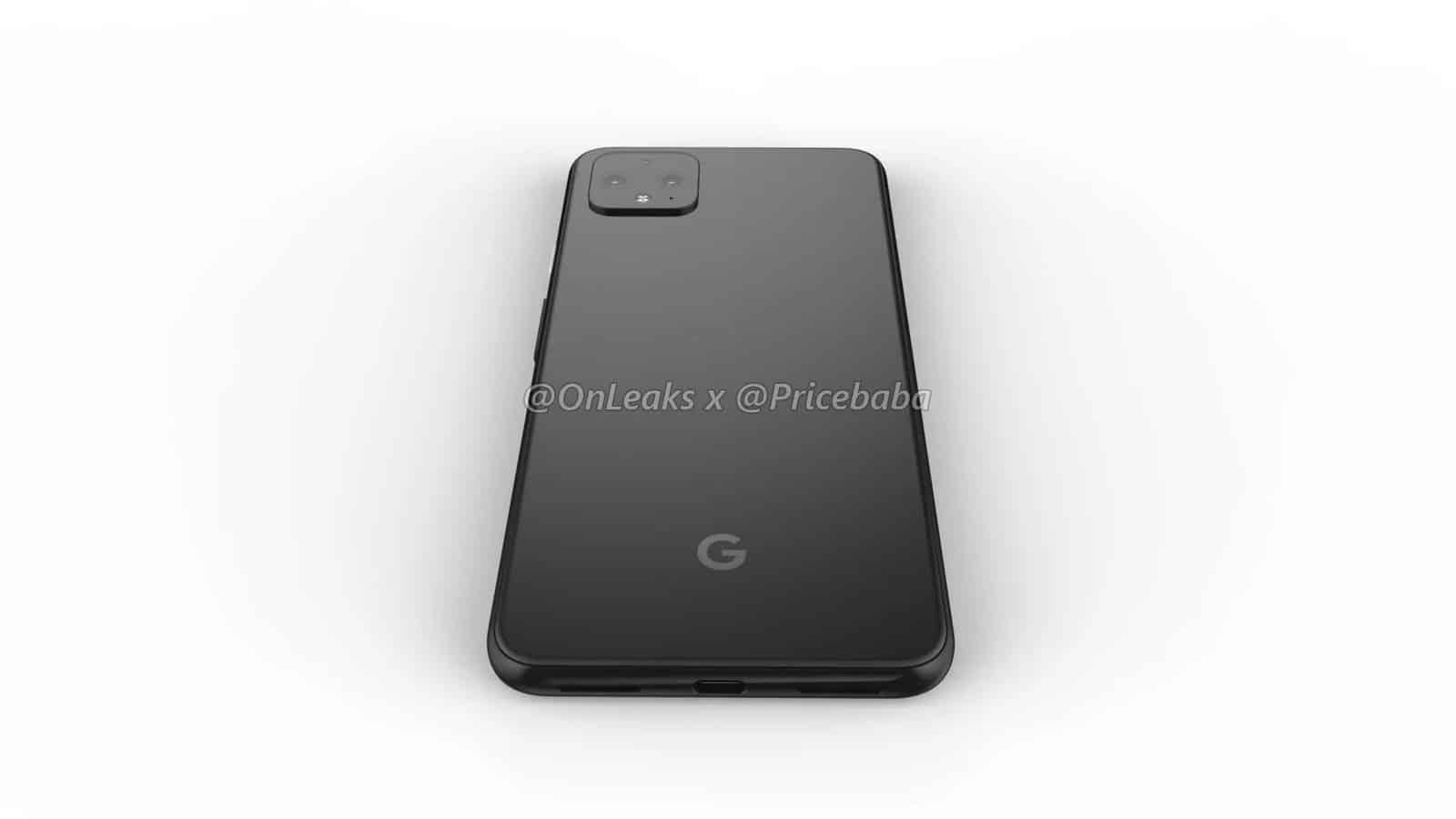 Google Pixel 4 XL render leak July 2019 13