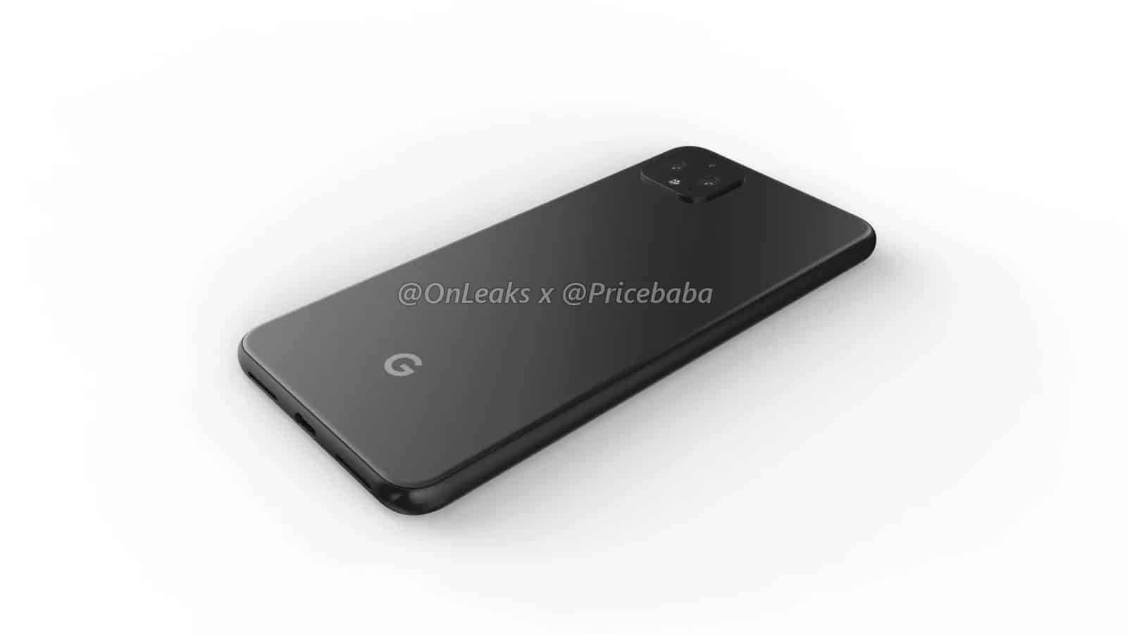 Google Pixel 4 XL render leak July 2019 14
