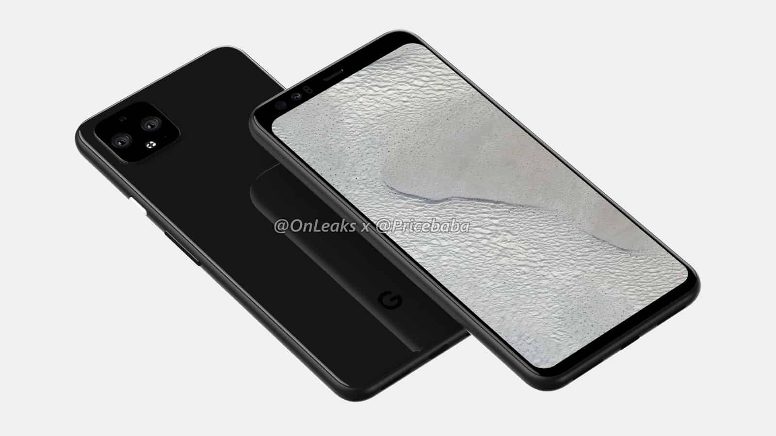 Google Pixel 4 XL render leak July 2019 18