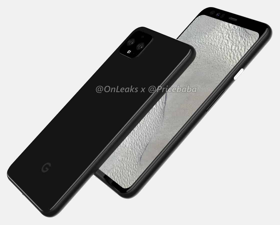 Google Pixel 4 XL render leak July 2019 2