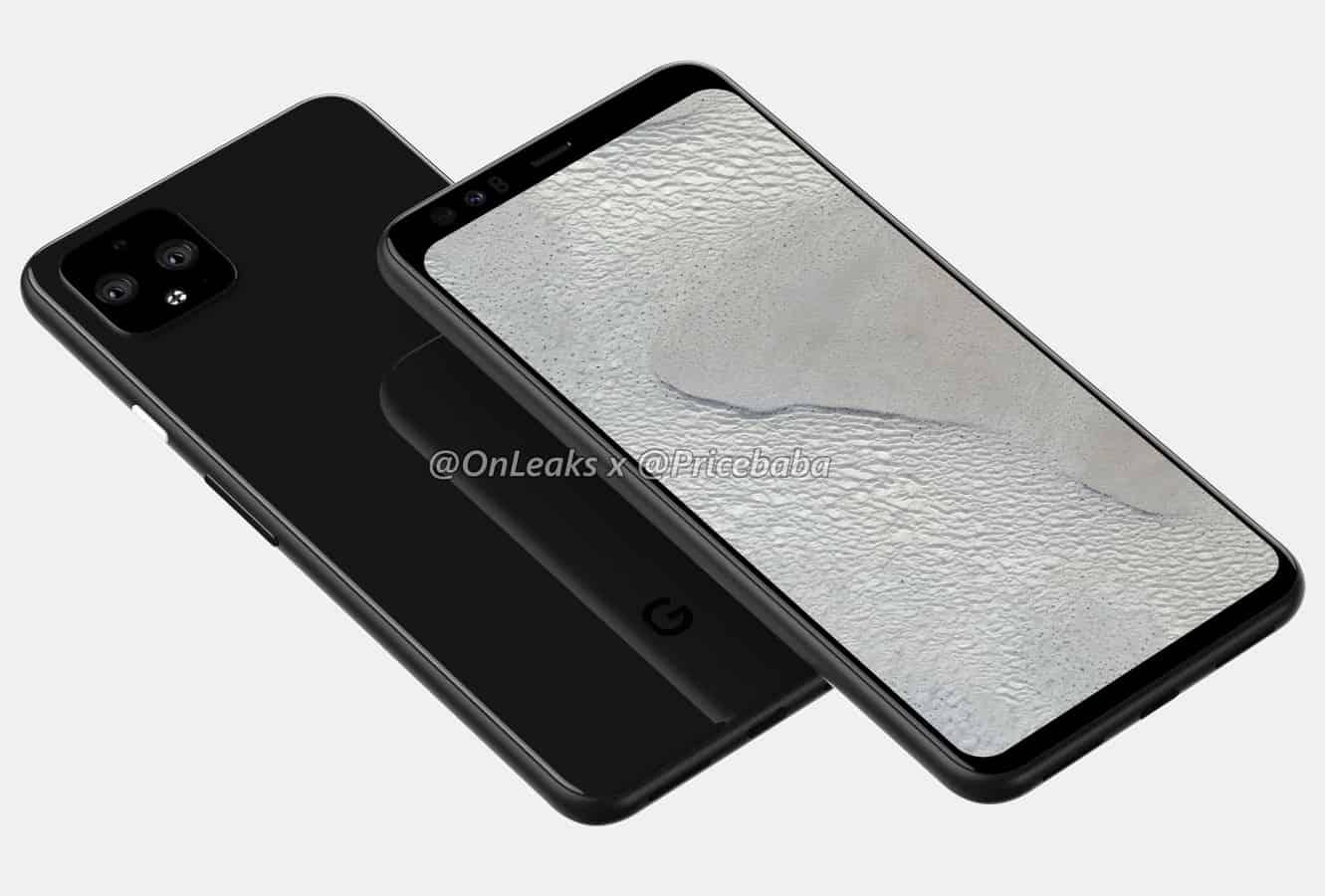 Google Pixel 4 XL render leak July 2019 3