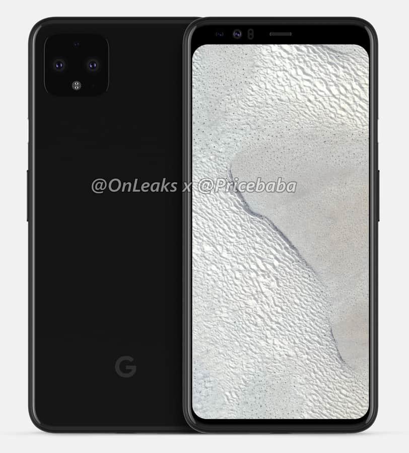 Google Pixel 4 XL render leak July 2019 4