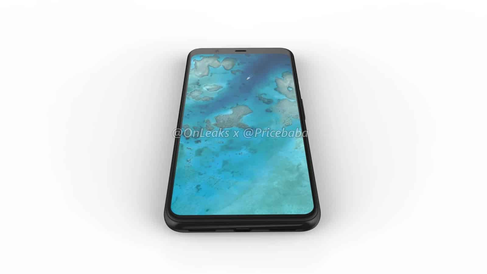 Google Pixel 4 XL render leak July 2019 7