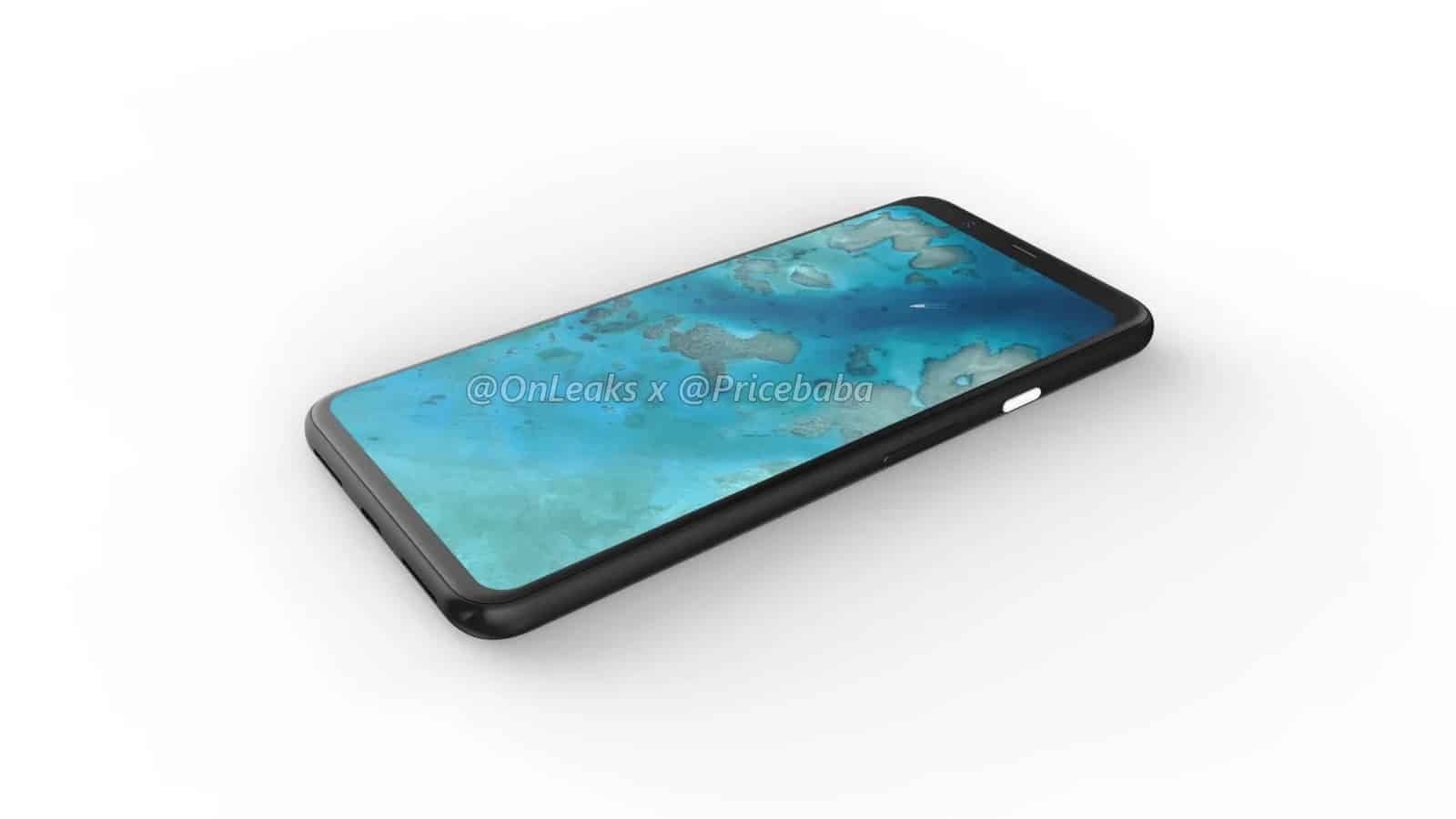 Google Pixel 4 XL render leak July 2019 8
