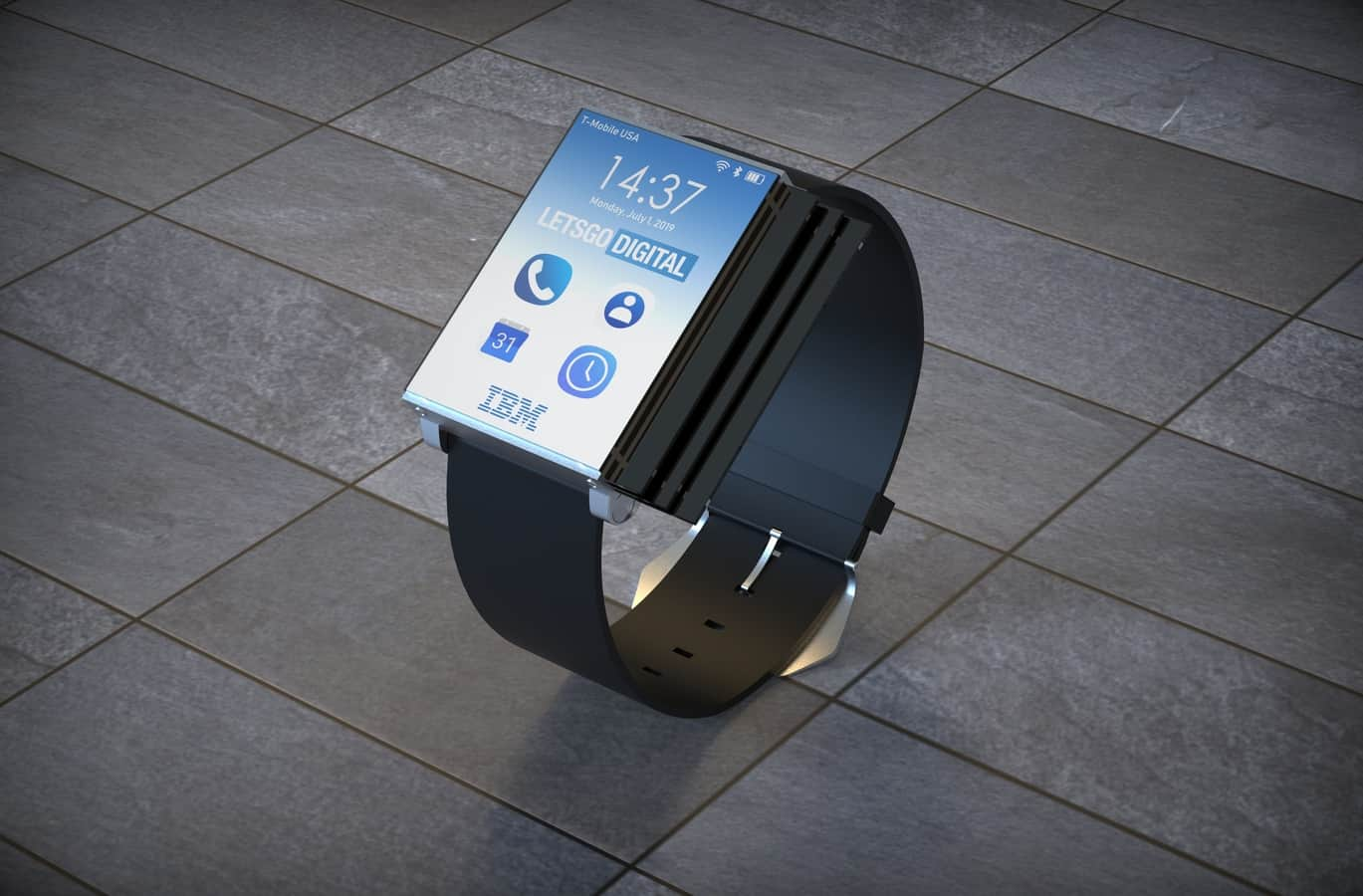 IBM smartwatch patent 2