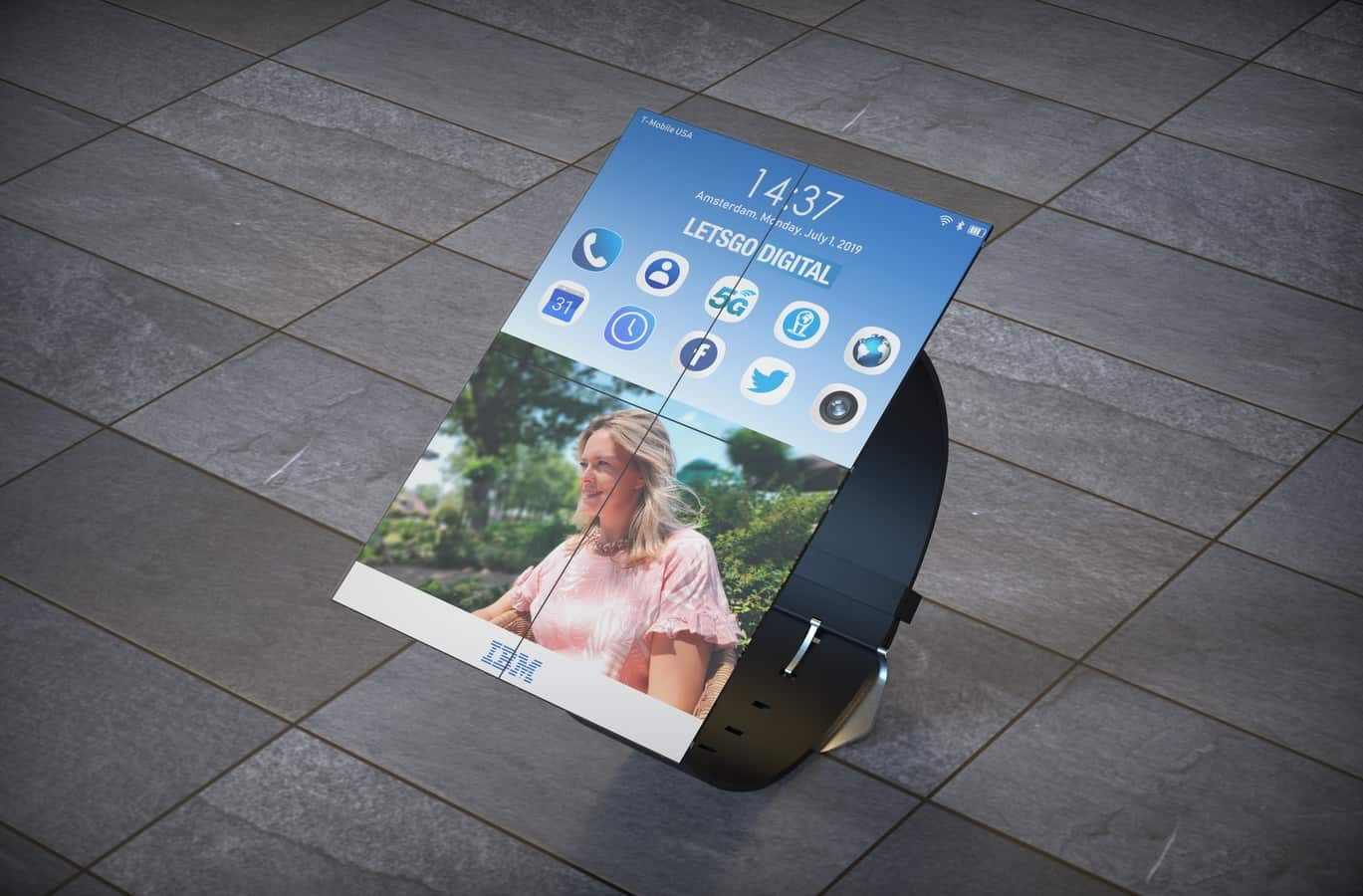 IBM smartwatch patent 3
