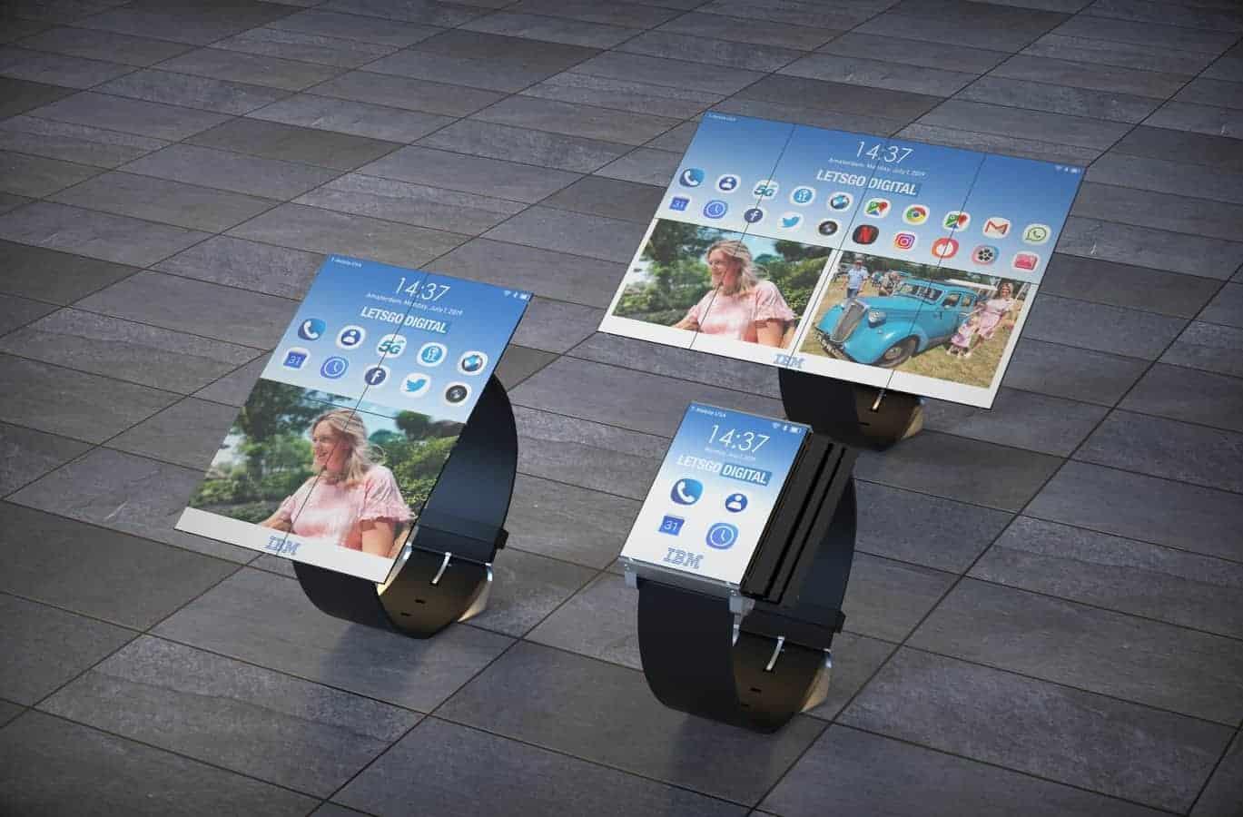 IBM smartwatch patent 5