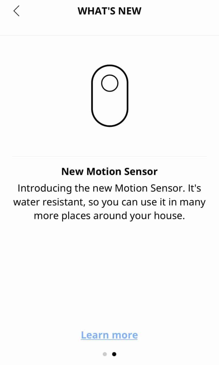 IKEA New Motion Sensor