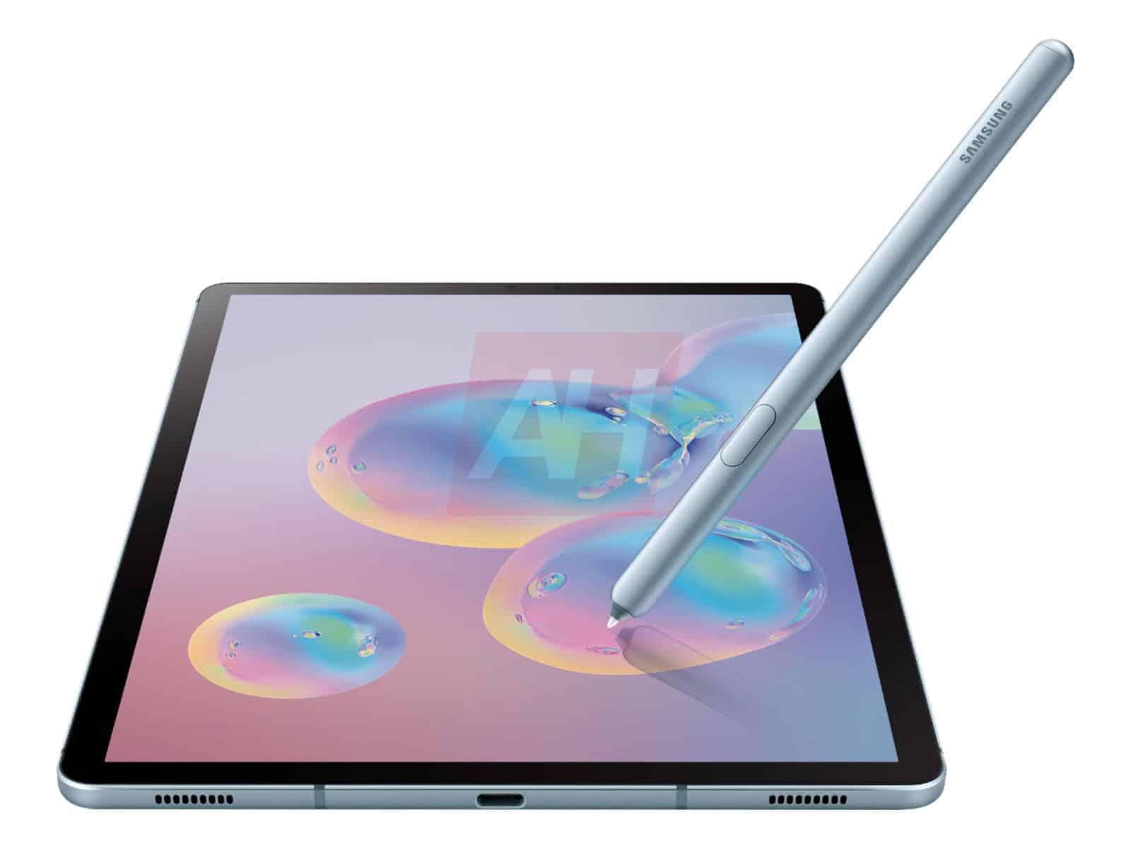 Samsung Galaxy Tab S6 Leak Blue 5