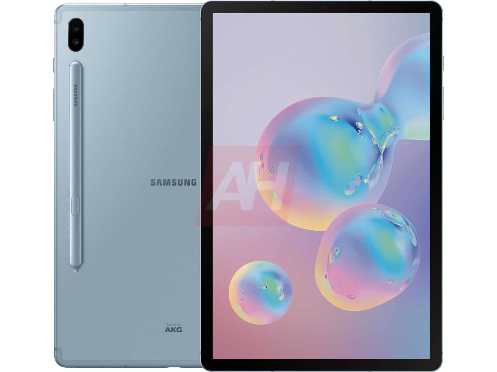 Samsung Galaxy Tab S6 Leak Blue 8