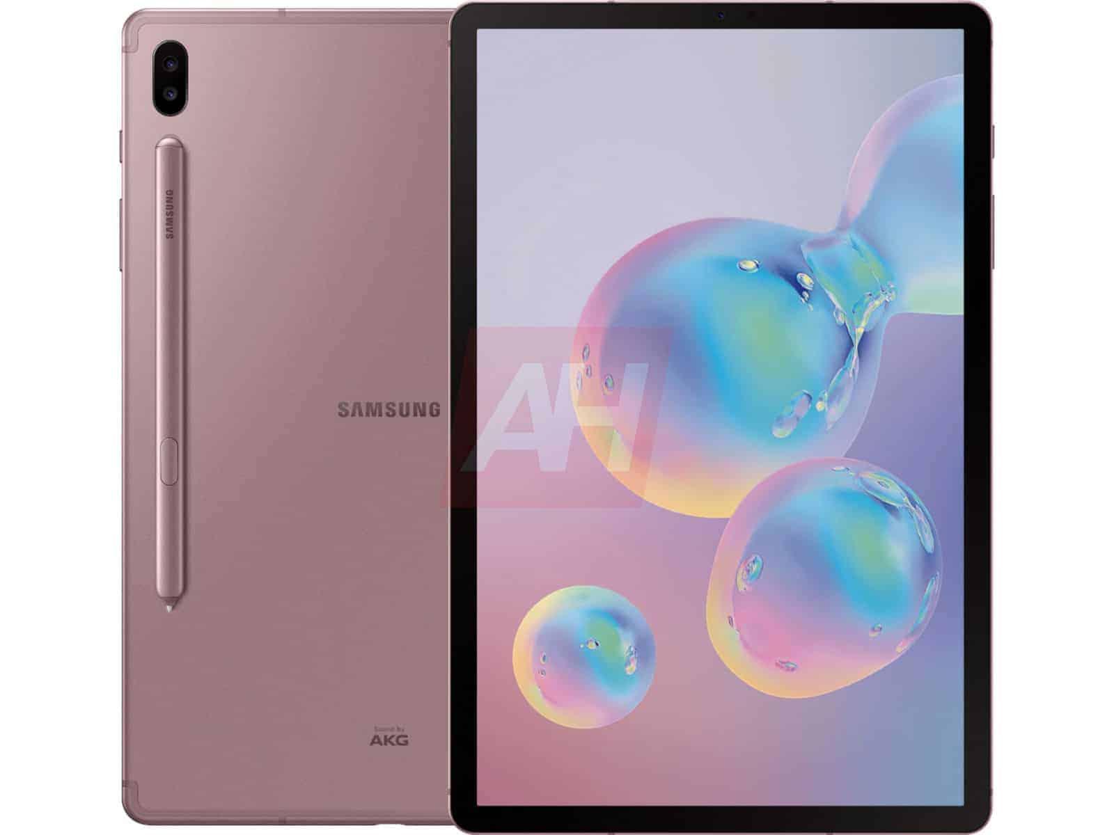 Samsung Galaxy Tab S6 Leak Pink 3