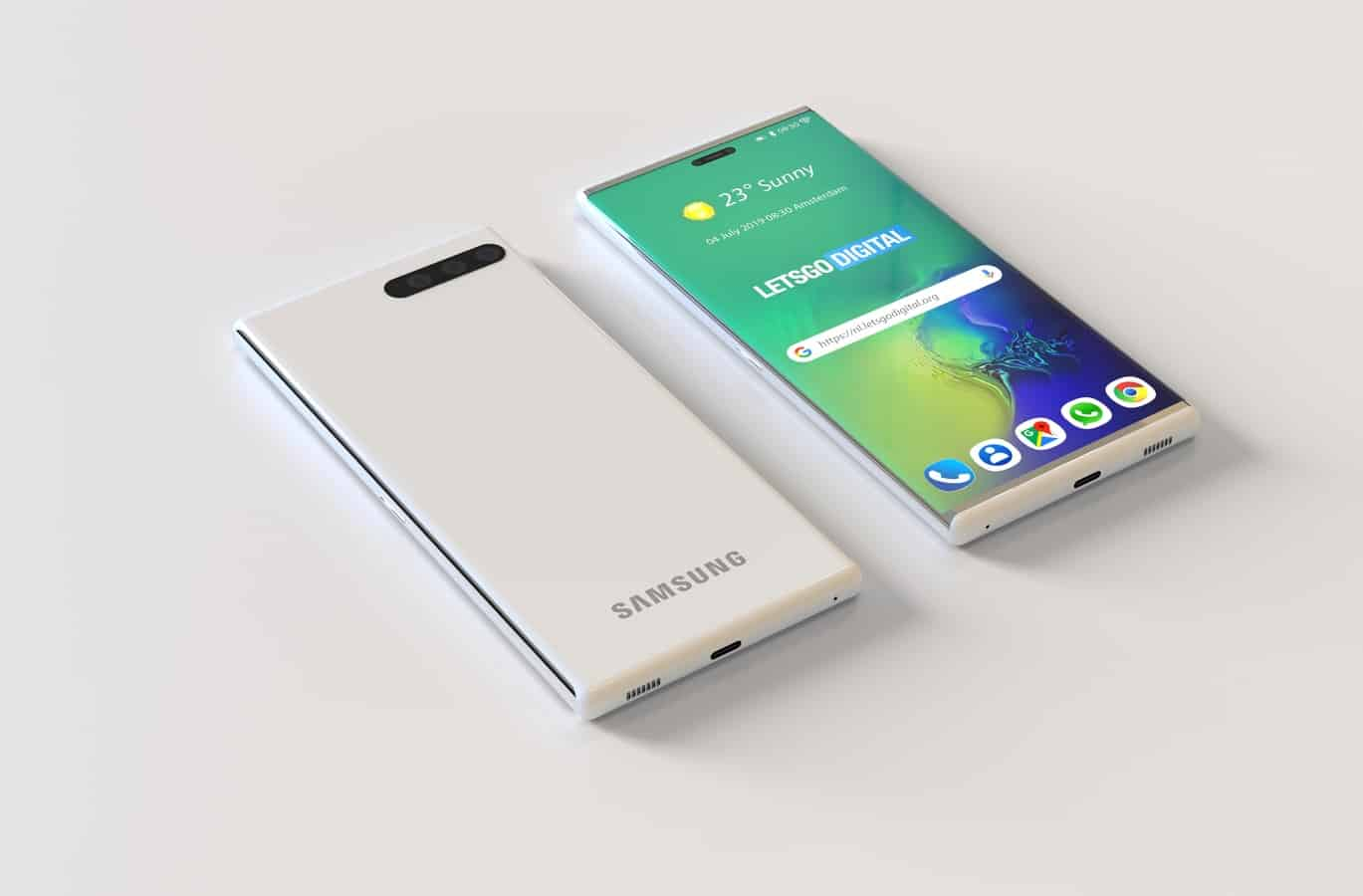 Samsung smartphone retractable display patent 4