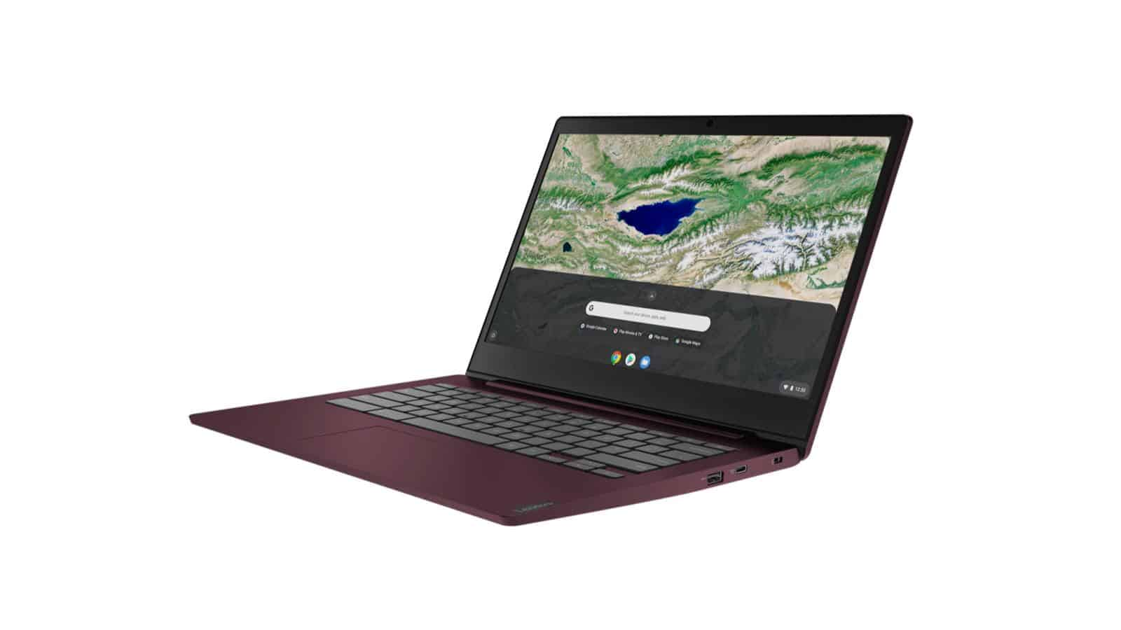 06 03 Chromebook S340 14 Dark Orchid Front Facing Left