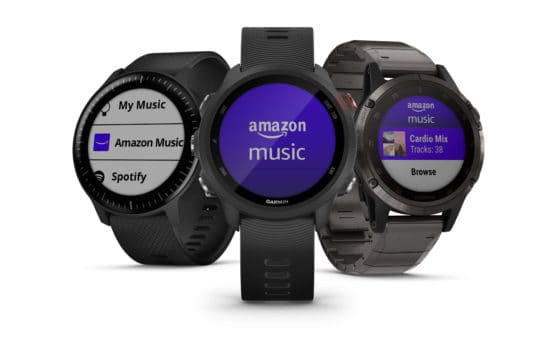 Amazon Music Garmin Smartwatches