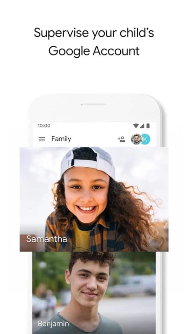 Google Family Link for parents app image August 2019