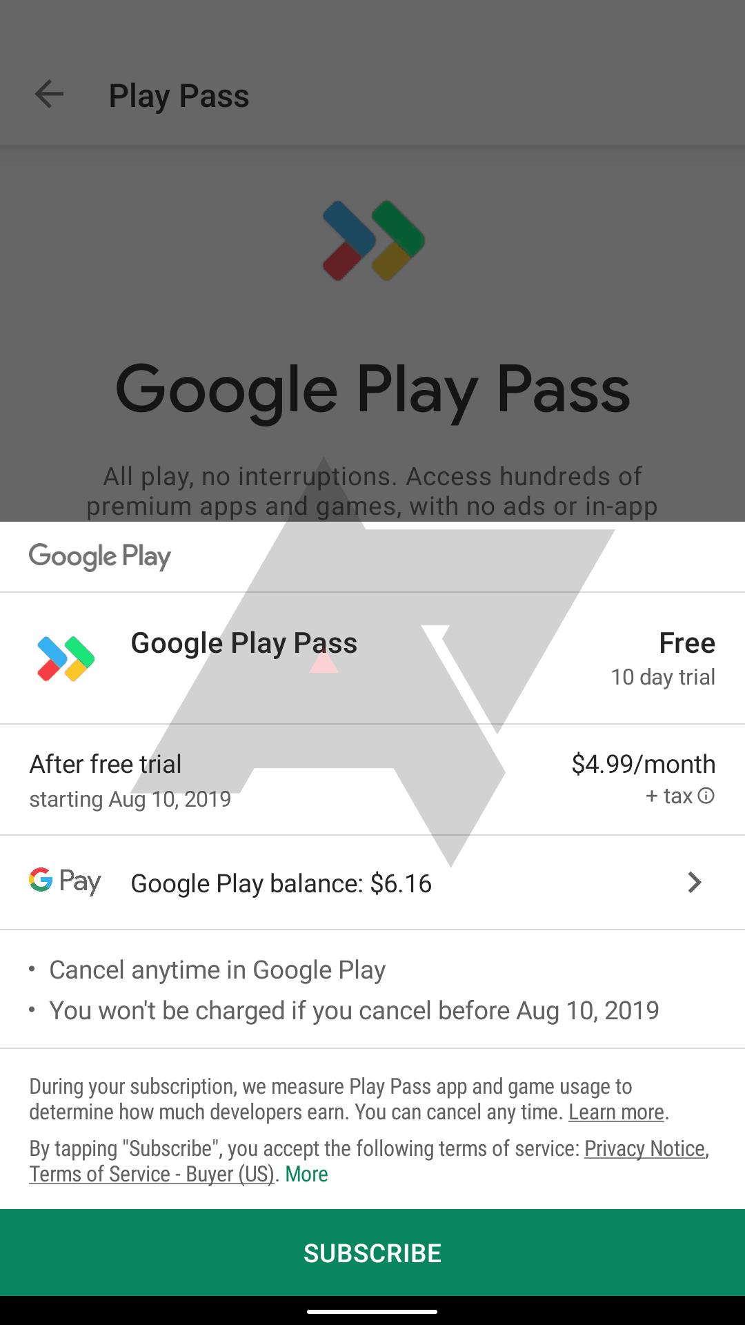 Google Play Pass 3
