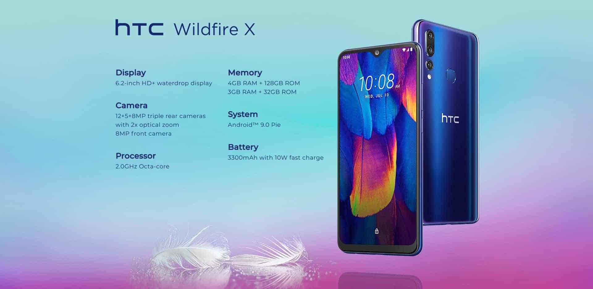 HTC Wildfire X image 3
