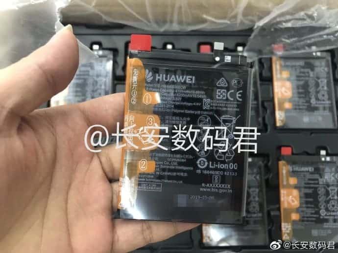 Huawei Mate 30 battery capacity leak 1