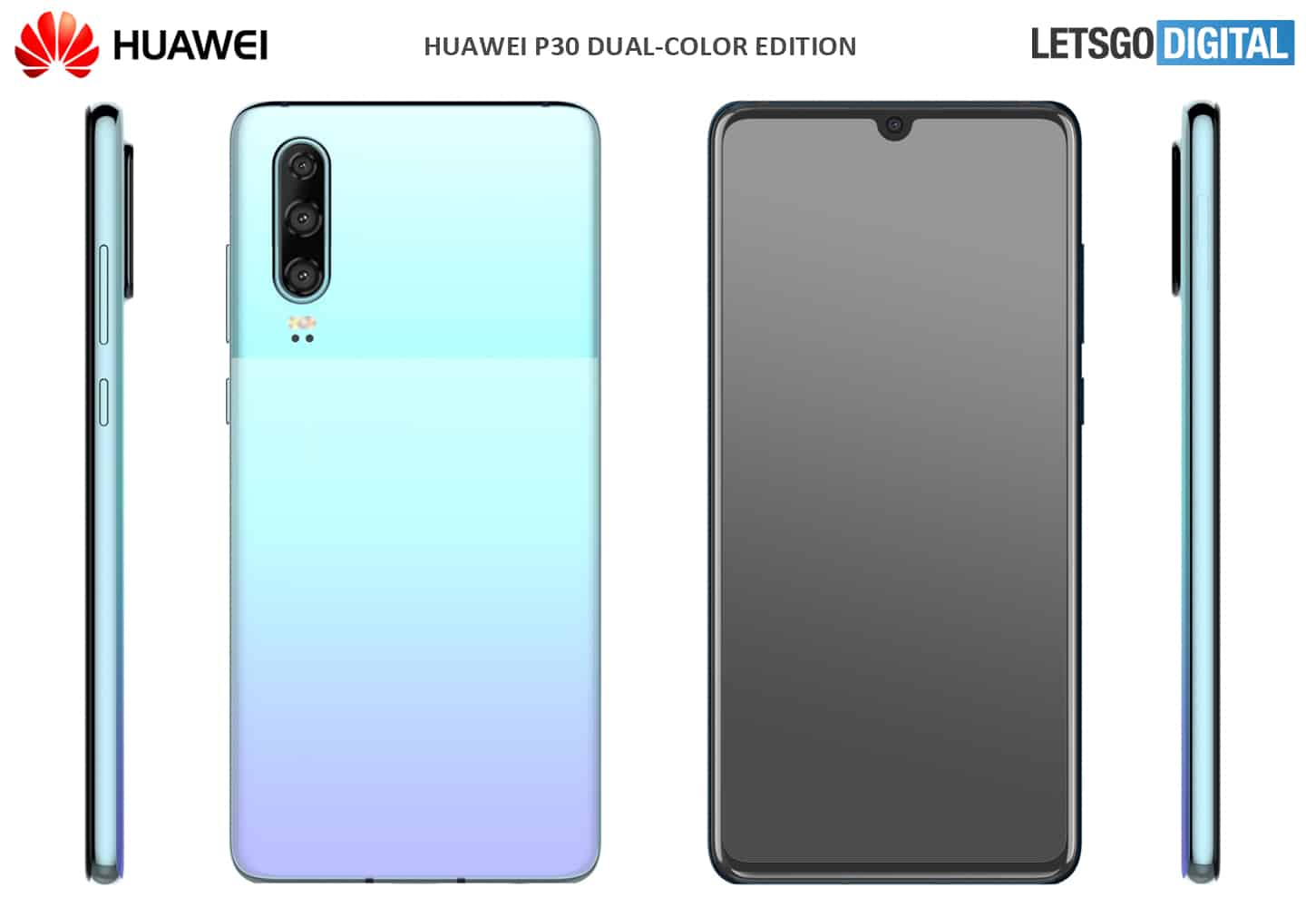 Huawei P30 dual color option 1