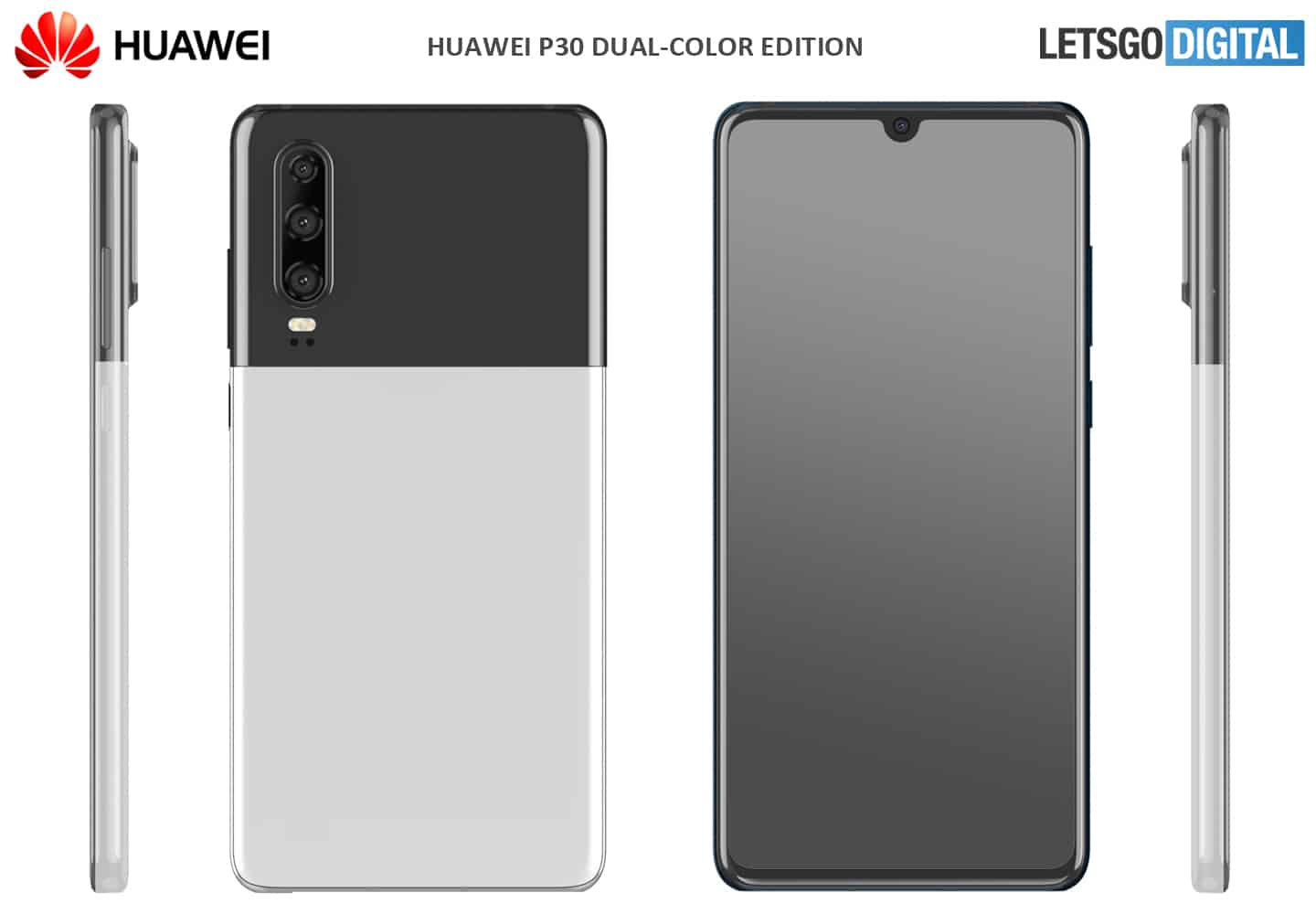 Huawei P30 dual color option 2