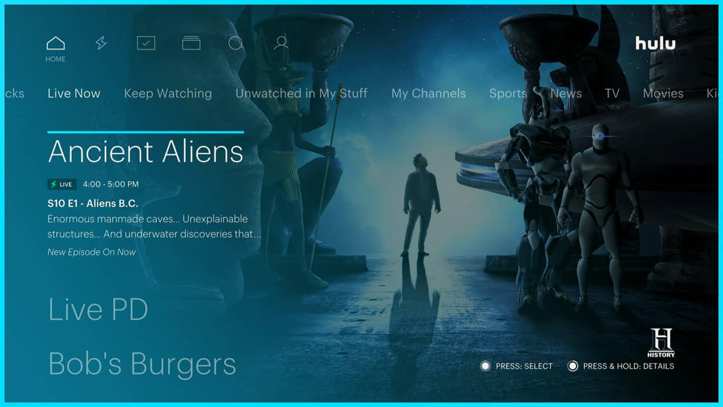 Hulu with Live TV Android TV 13