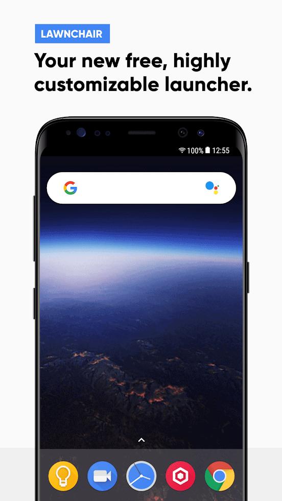 Lawnchair Launcher app image August 2019