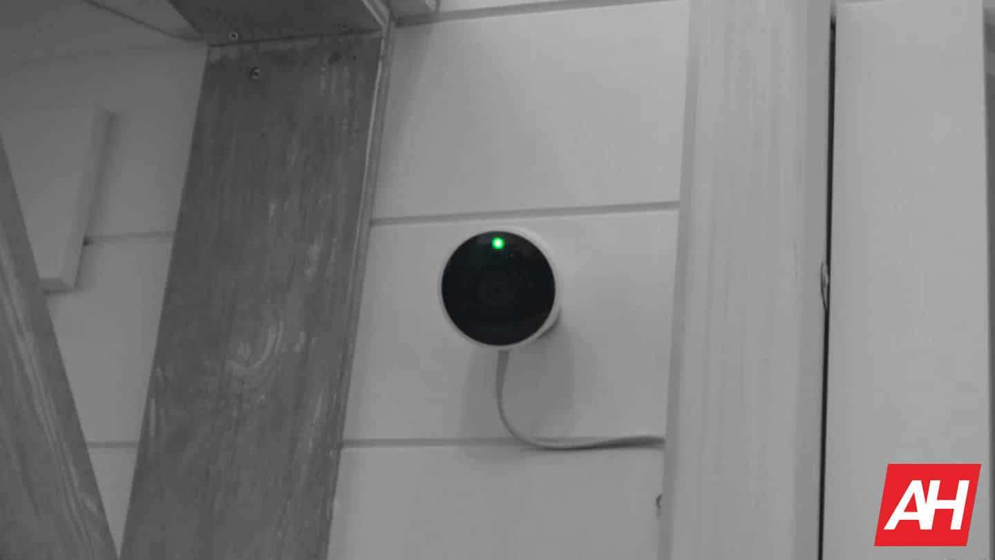 Nest Cam IQ Outdoor with light on