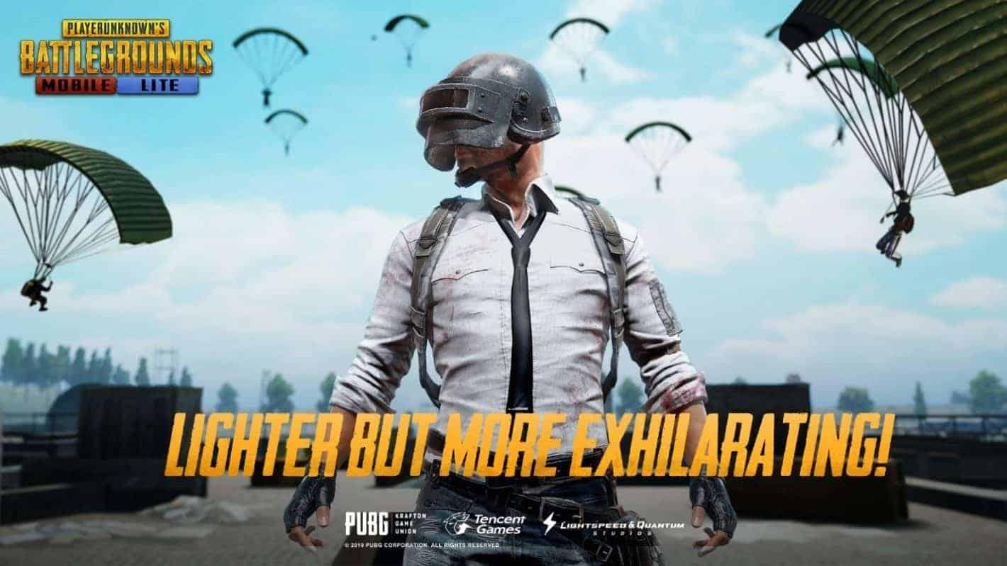 PUBG MOBILE Lite Launch Banner