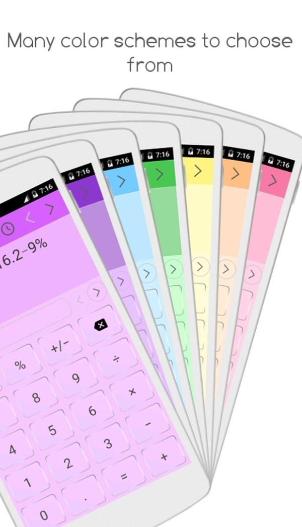 Quickey Calculator app image August 2019