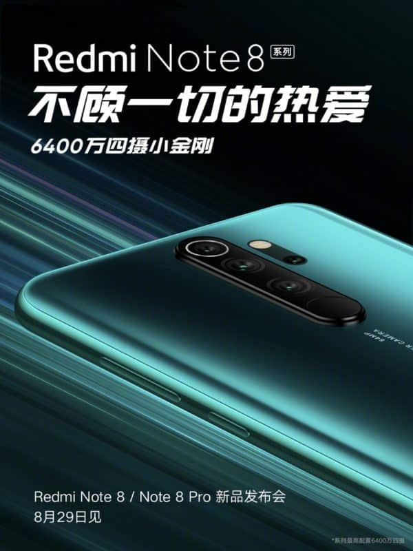 Redmi Note 8 and Note 8 Pro are coming