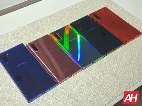 Samsung Galaxy Note 10 Colors AH 2019 15