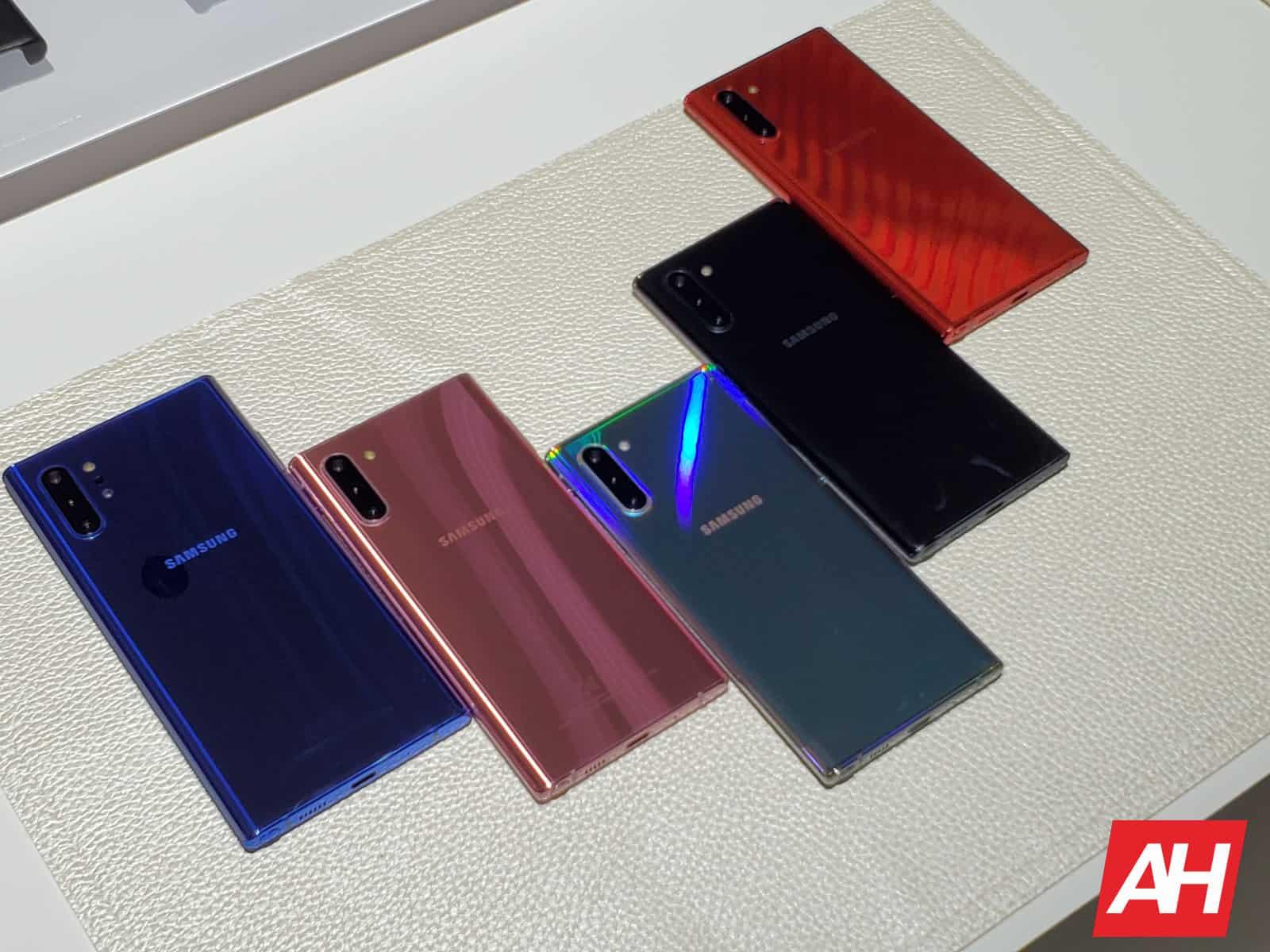 Samsung Galaxy Note 10 Colors AH 2019 16