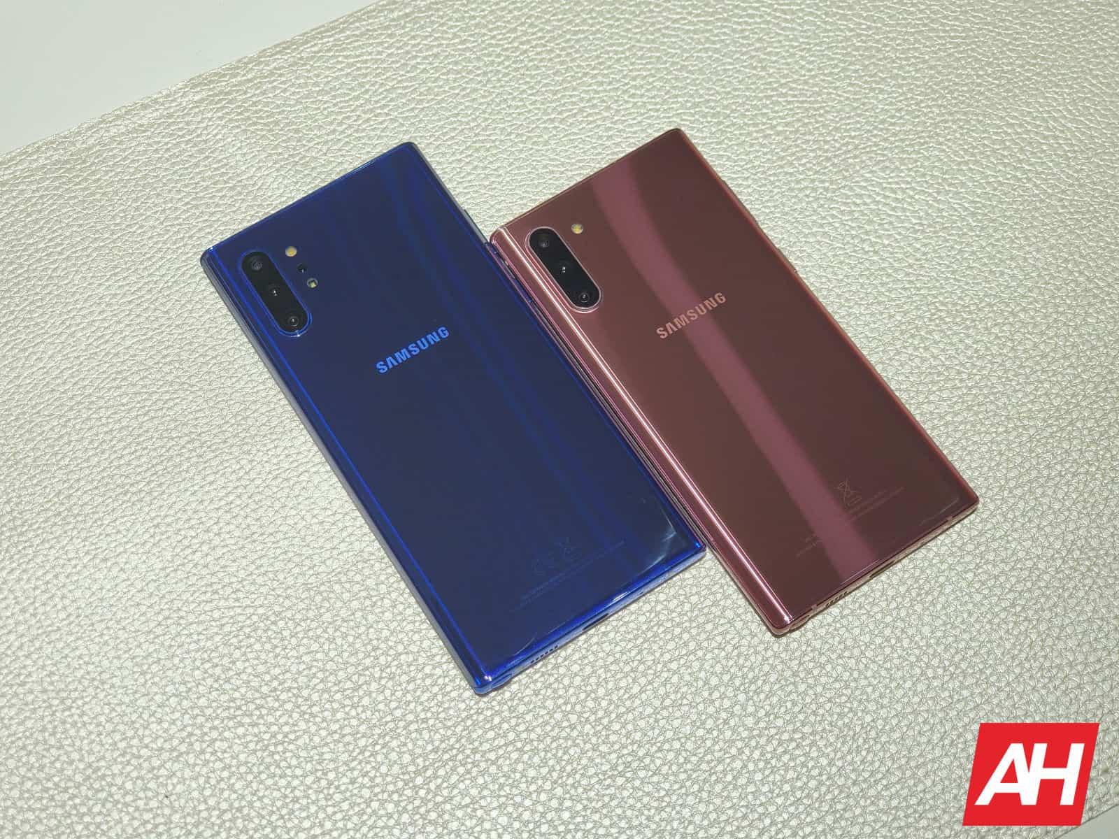 Samsung Galaxy Note 10 Colors AH 2019 6
