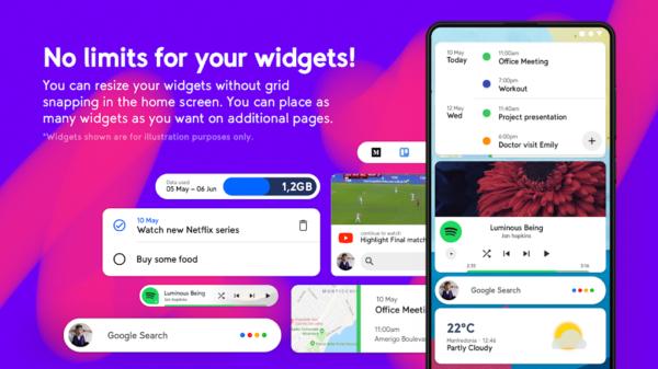 Smart Launcher 5 app image August 2019