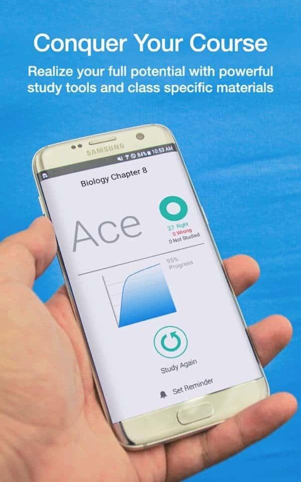 StudyBlue app image August 2019