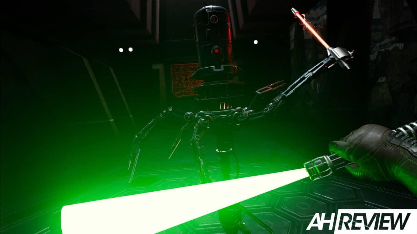 Vader Immortal lightsaber combat review