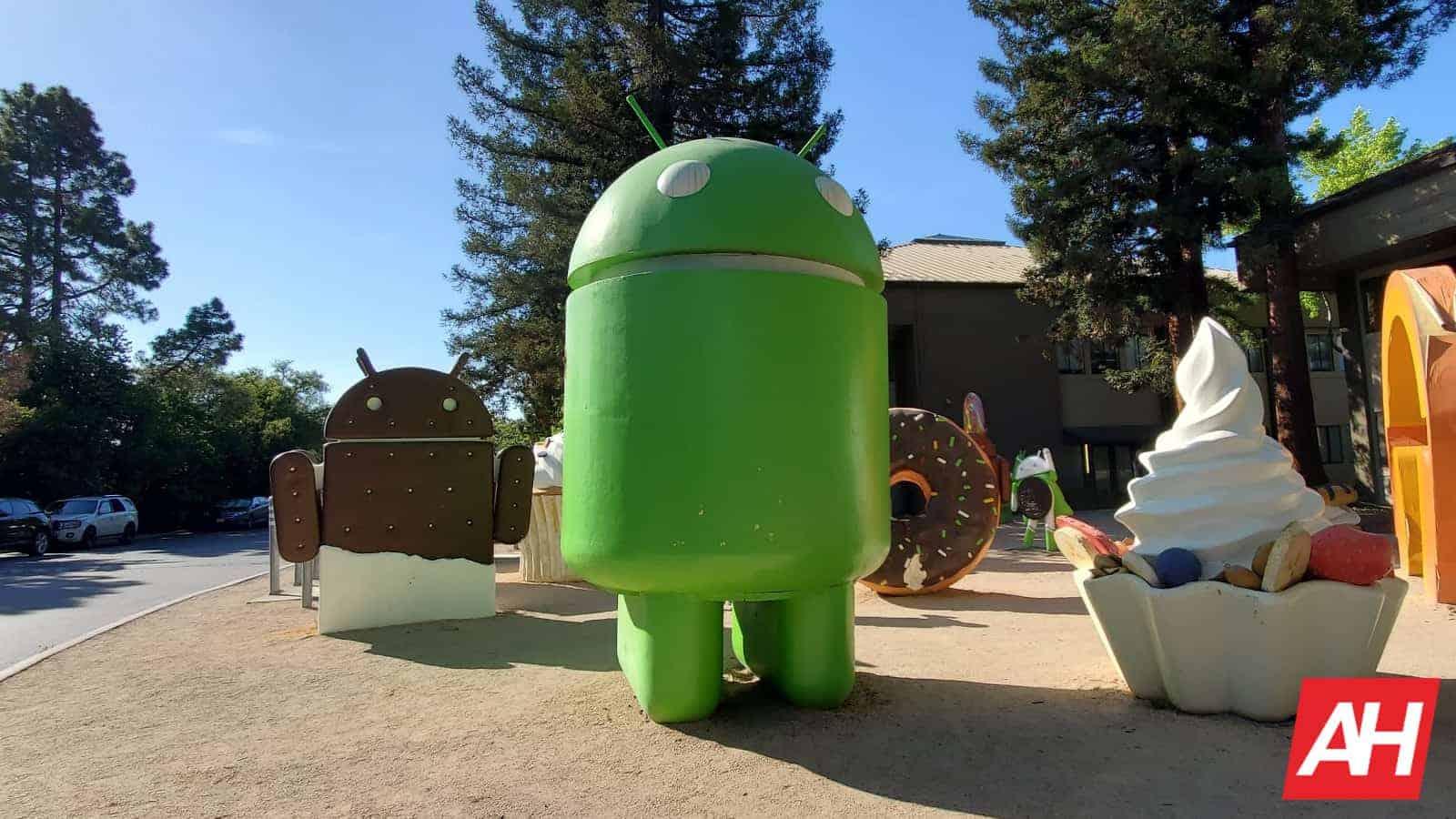android statue broken AH
