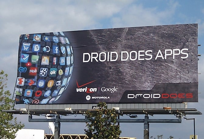 droid does billboard