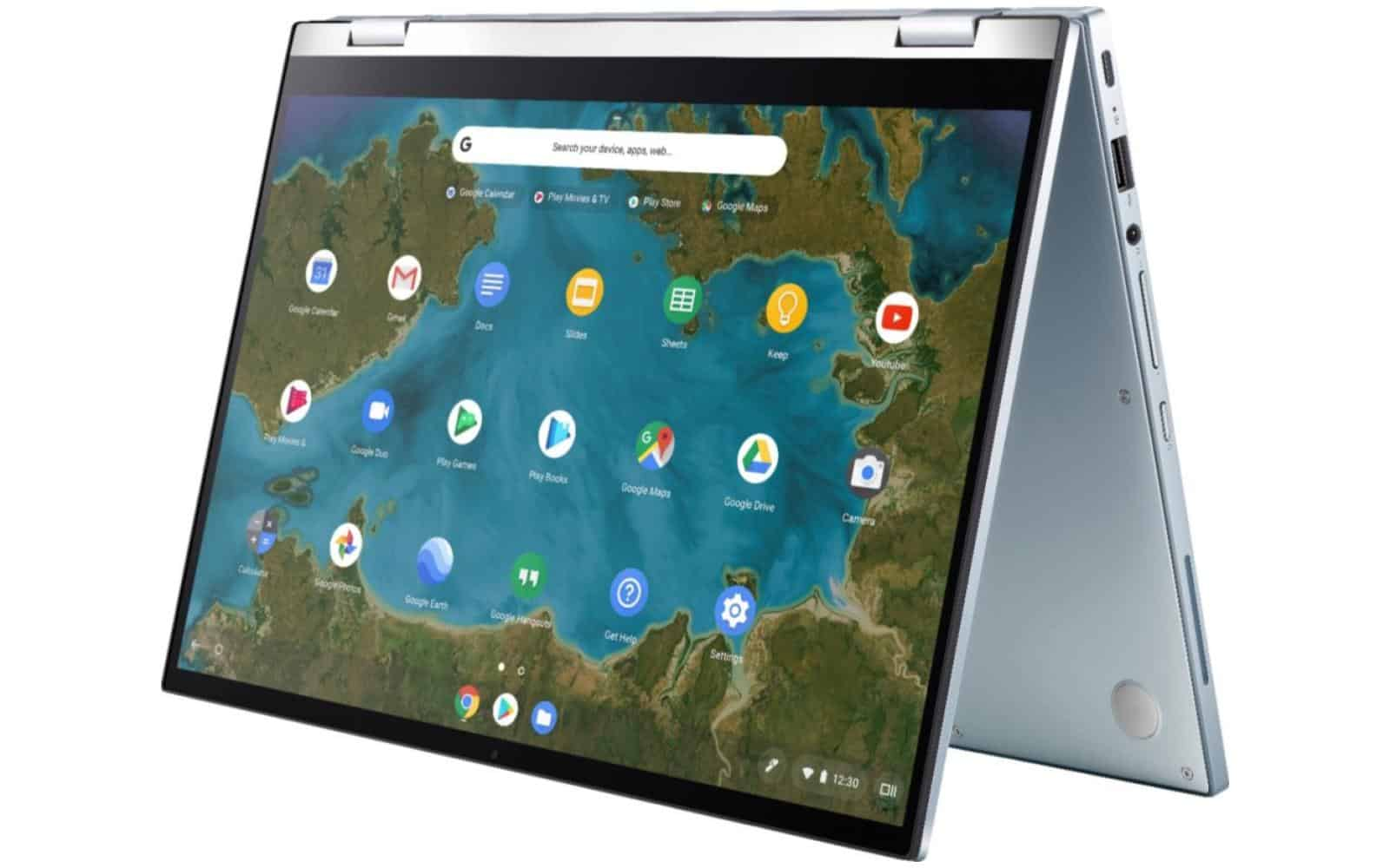 03 ASUS Chromebook Flip C433 from About Chromebooks