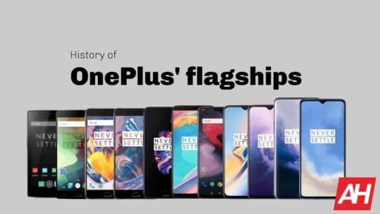 AH OnePlus flagship history September 2019