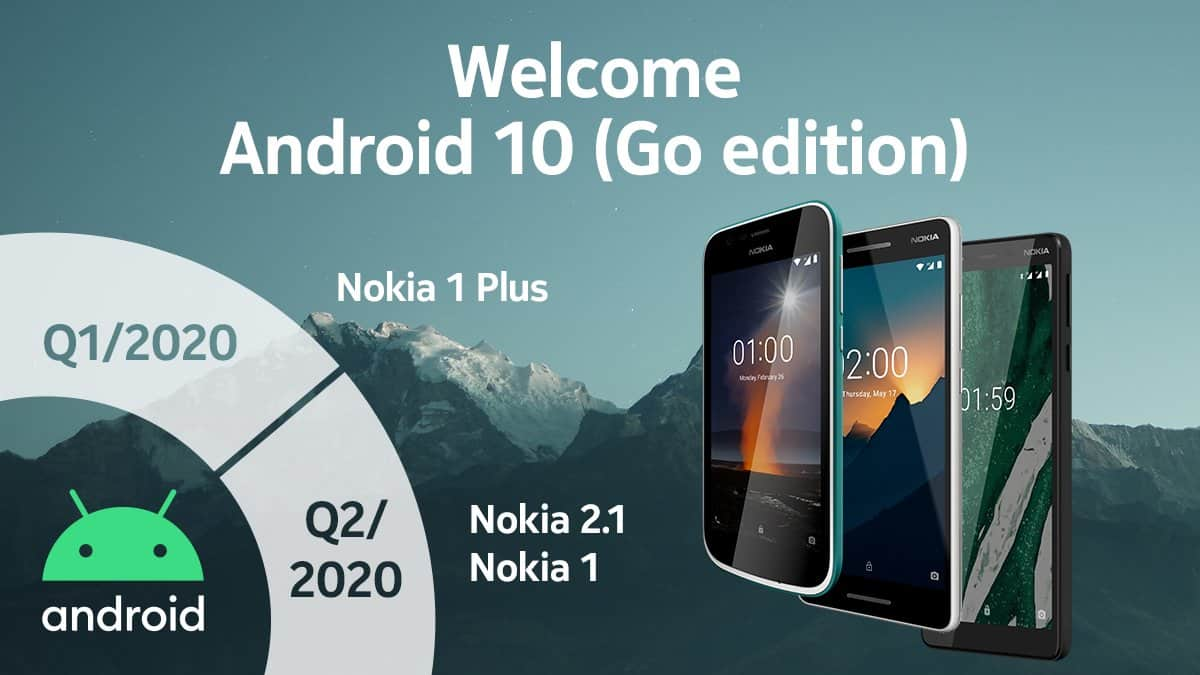 Android 10 Go Edition Nokia