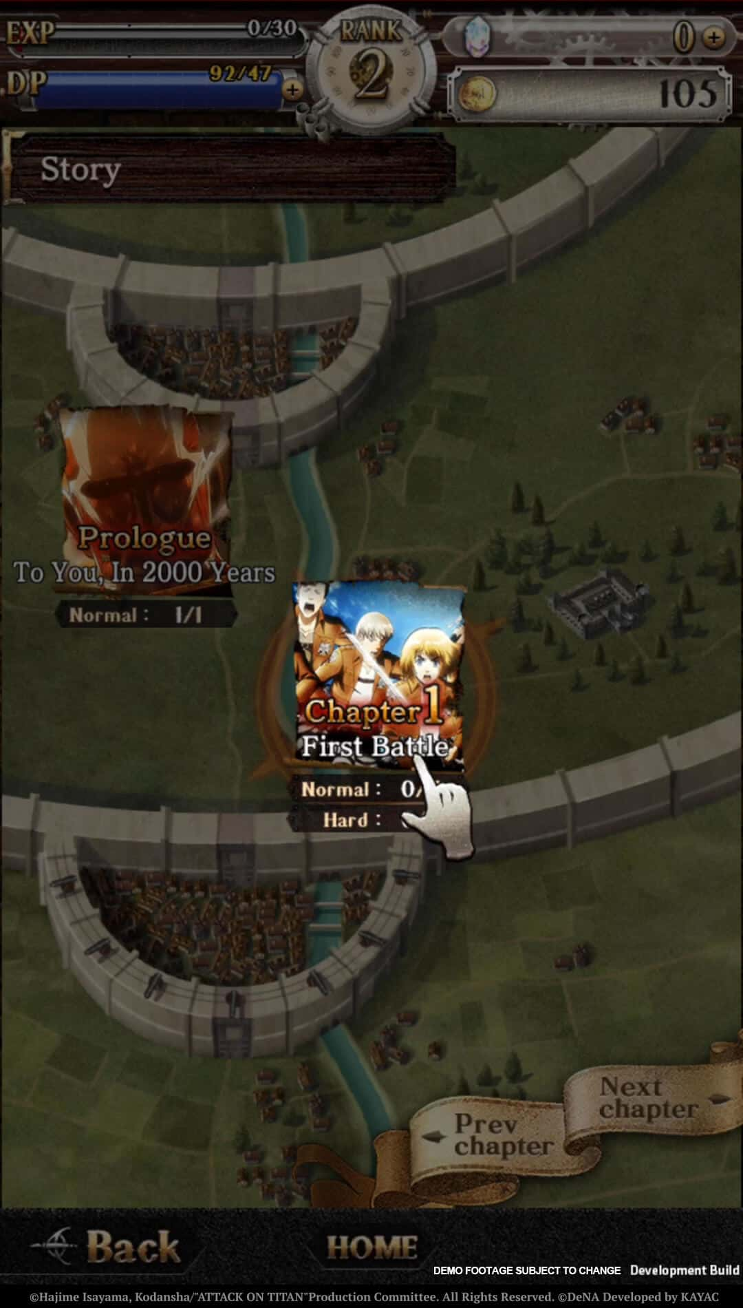 Attack on Titan Tactics 10