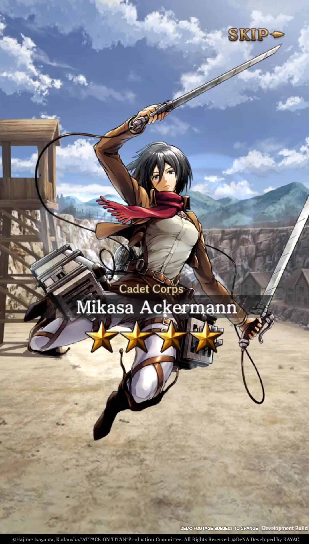 Attack on Titan Tactics 4
