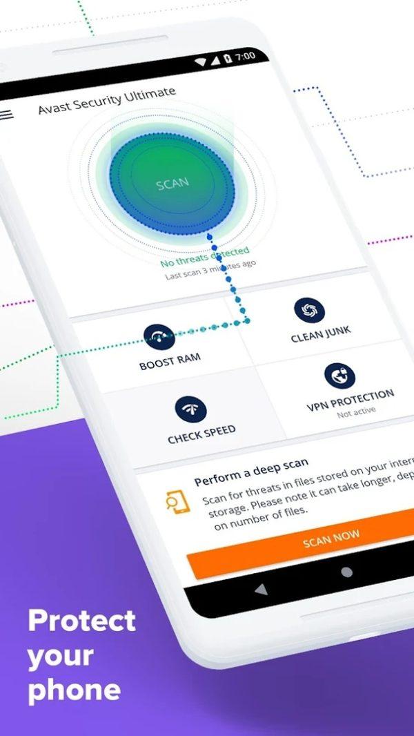 Avast Antivirus app image September 2019