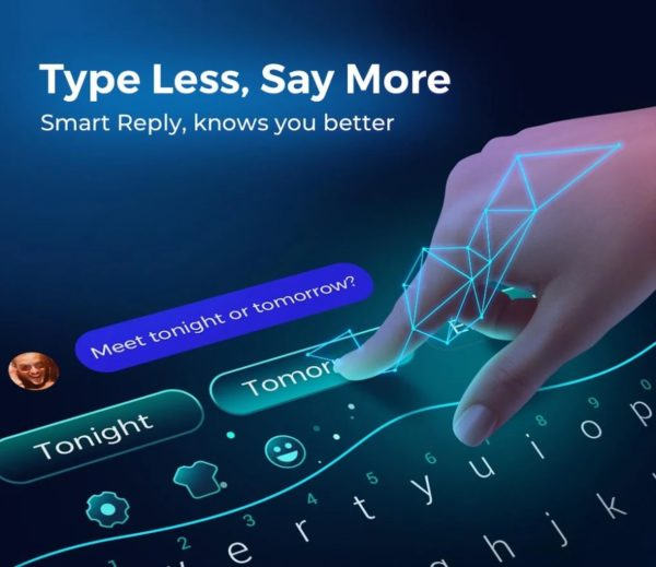 Cheetah Keyboard app image September 2019