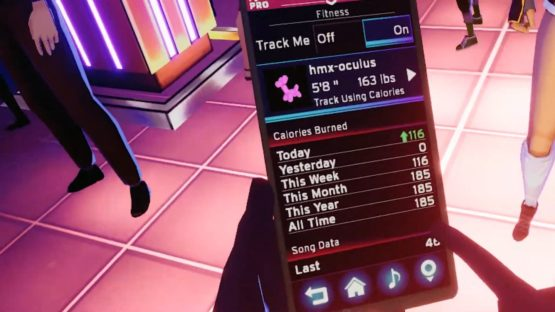 Dance Central Fitness Tracker