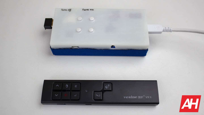 DreamGlass Air AR Glasses AH NS remote and media box