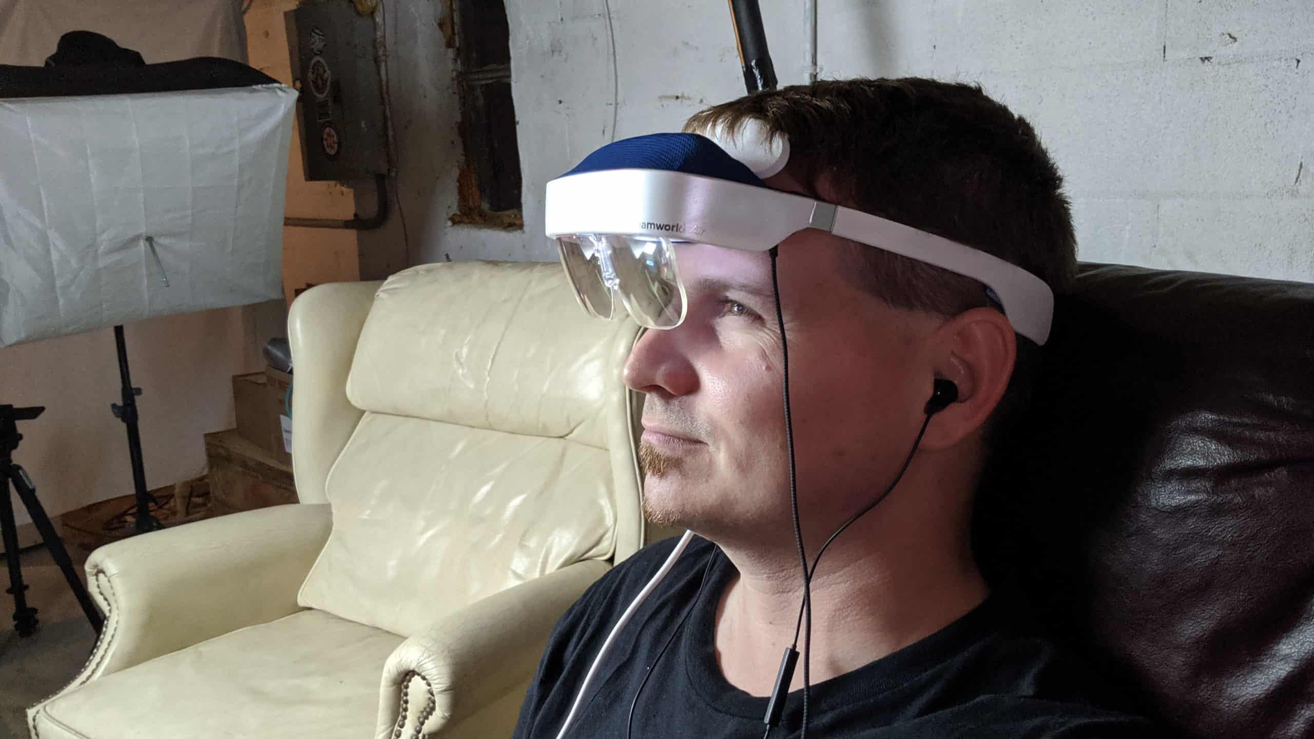 DreamGlass Air AR Glasses AH NS side