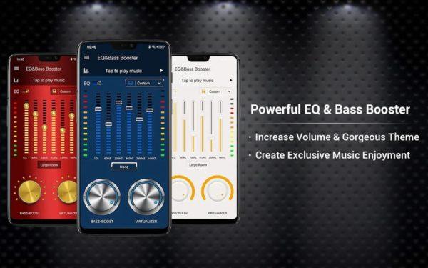 Equalizer Bass Booster Volume EQ Virtualizer app image September 2019
