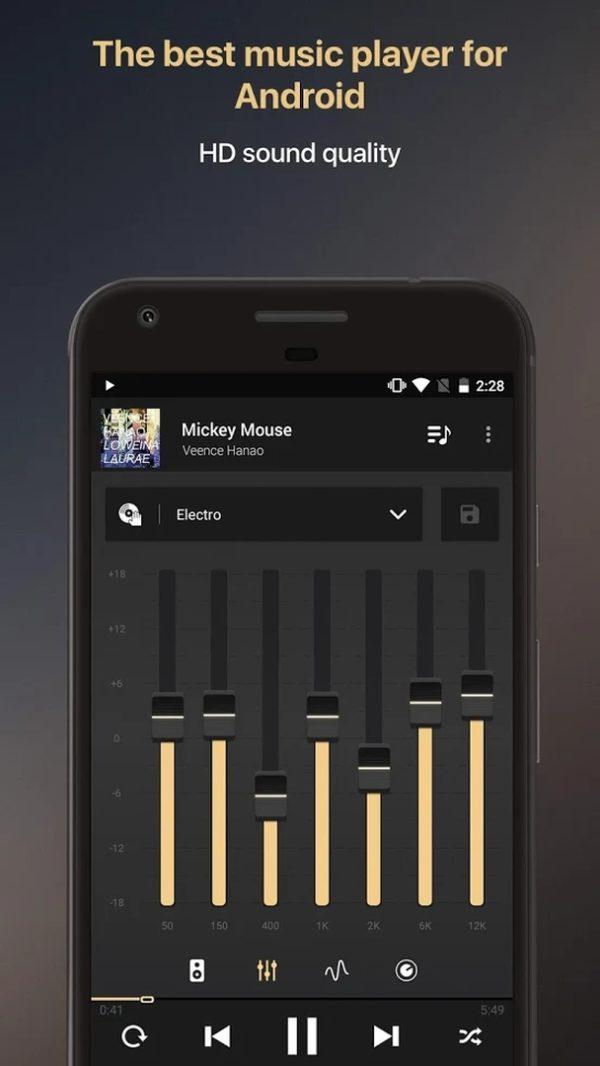 Equalizer music player booster app image September 2019
